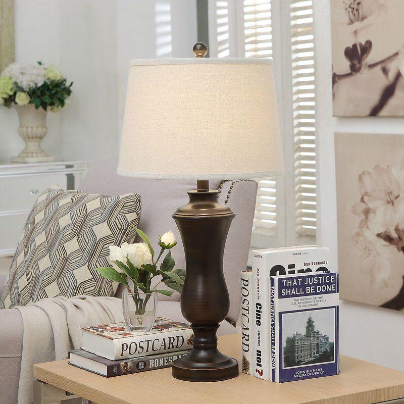 Charlton Home Carolyn 28 Table Lamp Reviews Wayfair Table Lamp Lamp Table Lamp Sets