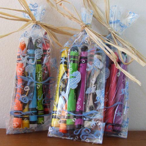 Under The Sea Cellophane Favor Goody Bags Wedding Gift Favors Goodie Bags Beach Wedding Favors