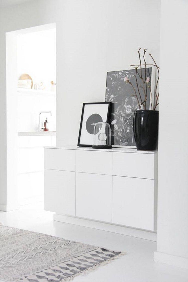 50 Deko Ideen Fur Ihre Kommode Im Flur So Gestalten Sie Ihren Eingangsbereich Einladend Haus Interieurs Kommode Weiss Inneneinrichtung