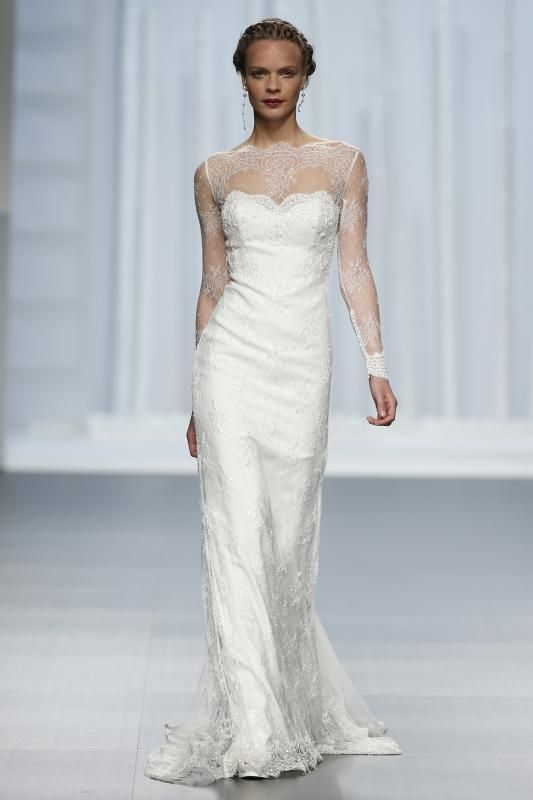 efb9f1fa08d Best wedding brand Rosa Clara collection 2016 Новые коллекции свадебных  платьев 2016 года на Barcelona Bridal Week   Rosa Clarà
