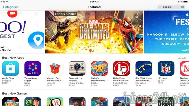 Use the App Store app on your iOS devices, Apple TV, or