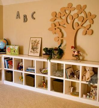 DIY Cubby Shelves Perfect For Toy Storage Maybe Only One High Though That Would Be Better Her To Reach Things