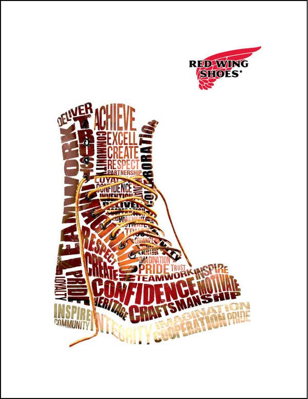 red wing shoe co. boot by Kelly Knutson, via Behance | RED WING ...