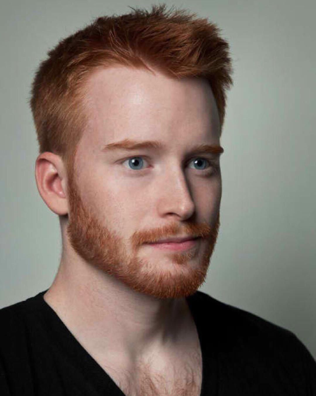 pin on guys haircuts with red hair