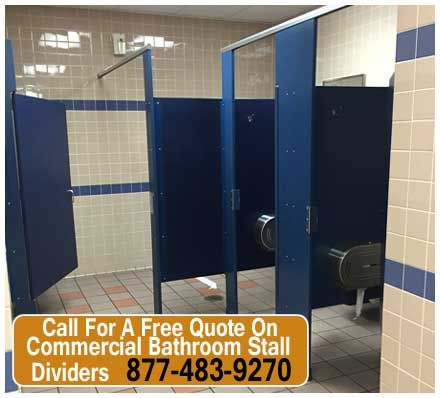 Commercial Bathroom Stall Dividers Do More Than Serve A Privacy Function,  Or At Least They