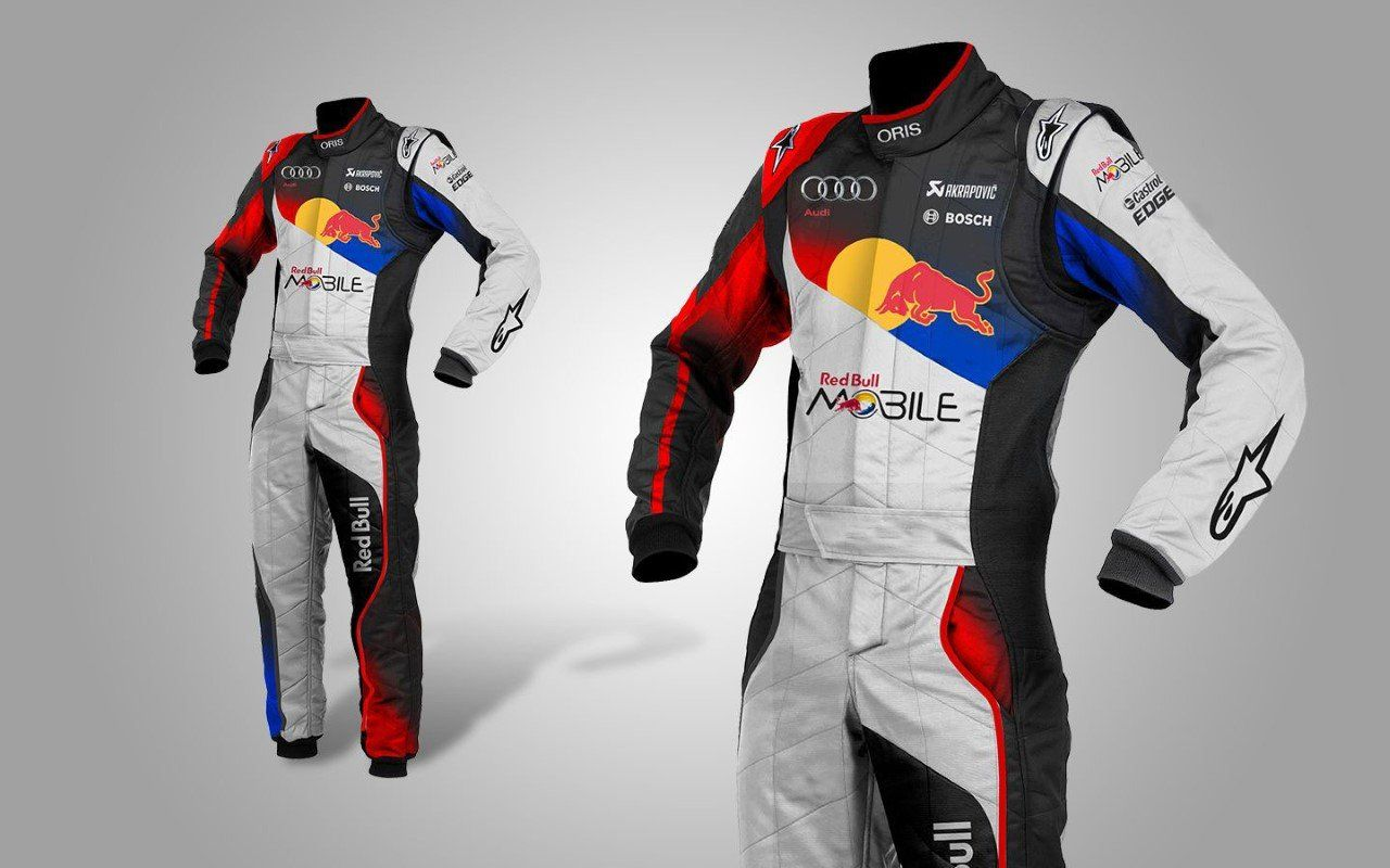 64a35e2e603a2 New Audi Redbull Go Kart Suit CIK FIA Level 2 Approved includes Free Gift
