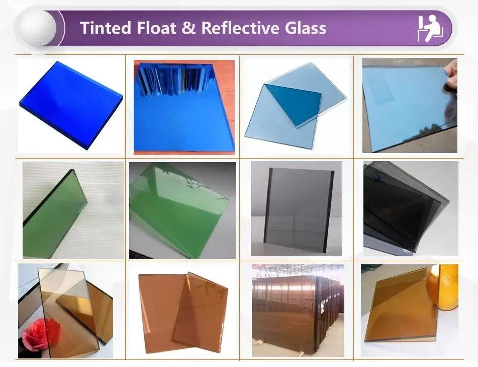 Tined Float Reflective Glass In 2020 Glass Floats Glass Suppliers Glass Louvers