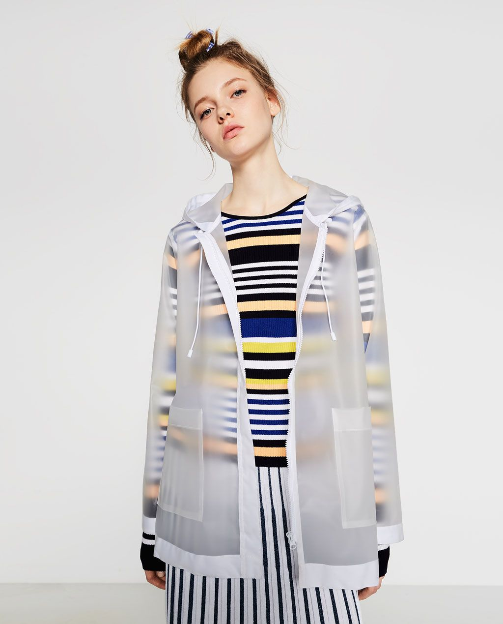 TRANSPARENT RAINCOAT-View All-OUTERWEAR-WOMAN | ZARA United States ...