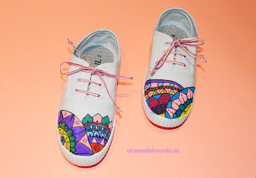 Customizar A ZapatillasMandalas De Unas Paso Cómo Bonitas R5LqSc34Aj