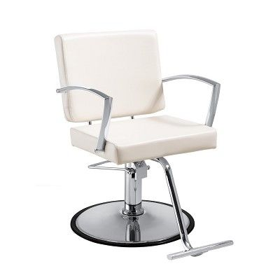 Duke White Salon Chair Salon Chairs Chair Upholstery Fabric For Chairs