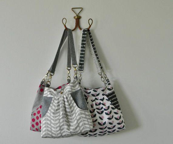 Helen Shoulder Bag PDF sewing pattern instant download
