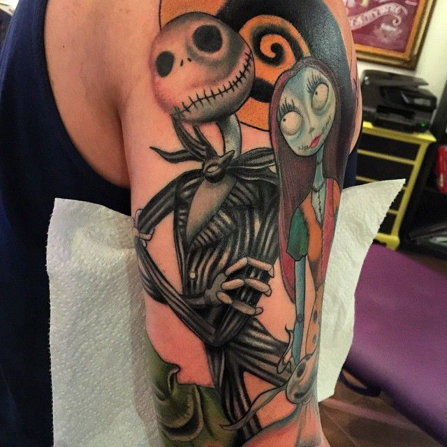 Nightmare Before Christmas Tattoos | Tattoo Inspiration ...