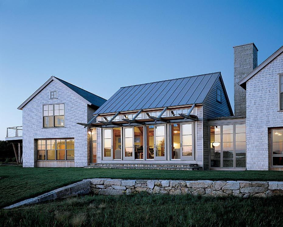Island cove hutker architects martha s vineyard cape for Modern cape cod house plans