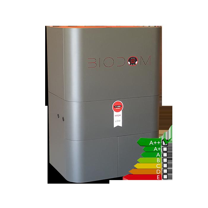 Pelletketel Biodom C15 Warmtewisselaar, Installaties