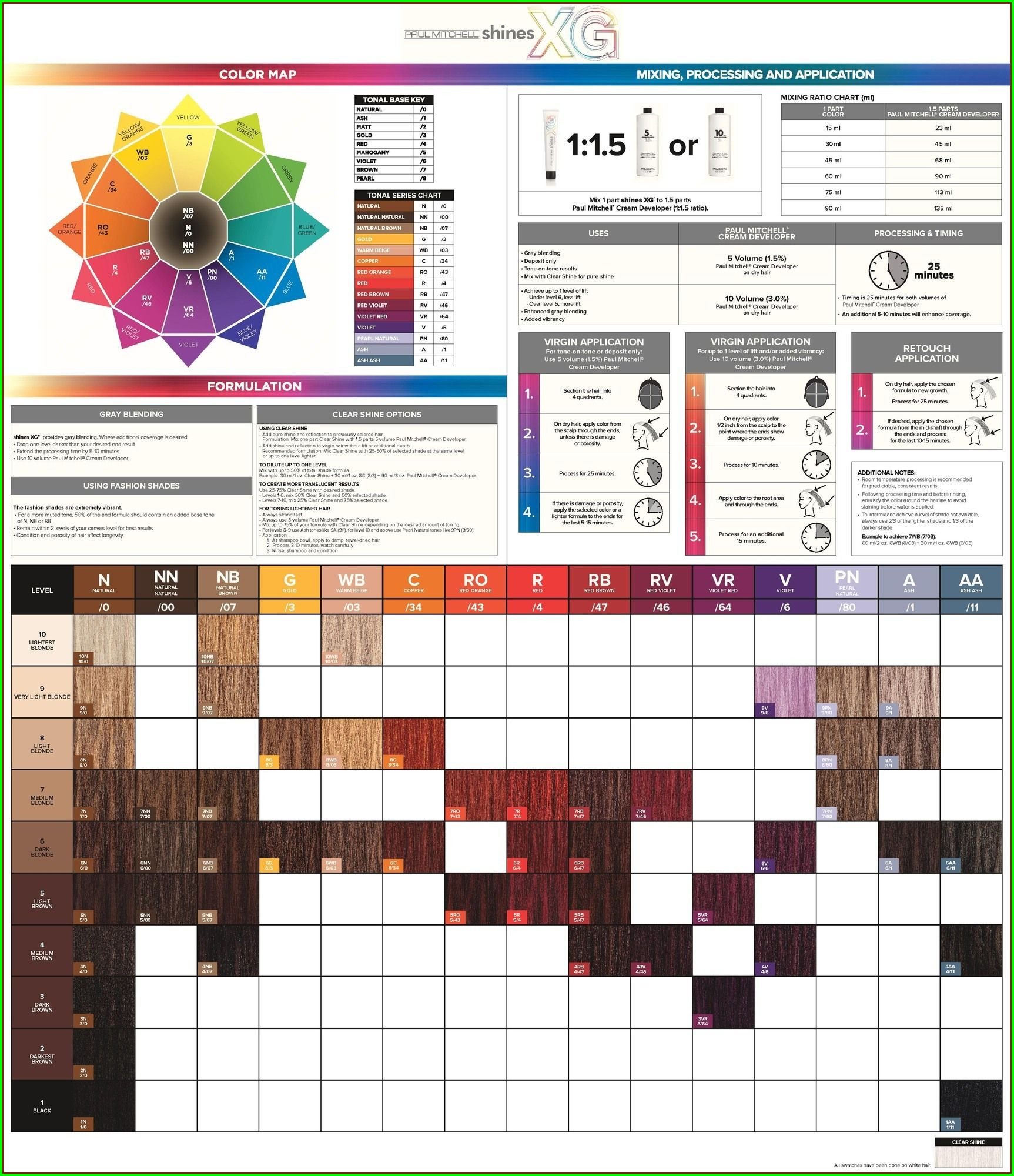 Paul Mitchell Pm Shines Color Chart 4054 Paul Mitchell Color Wheel 4 Paul Mitchell Color Paul Mitchell Color Chart Paul Mitchell