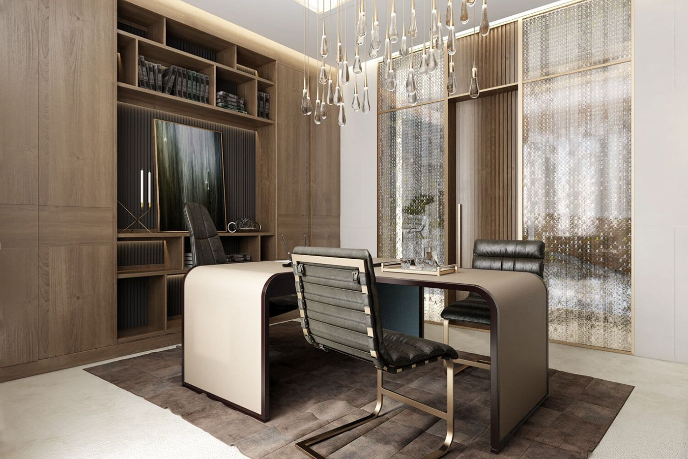 Executive Office Reception Design Ceo Office Design Architectural Rendering By Archicgi On