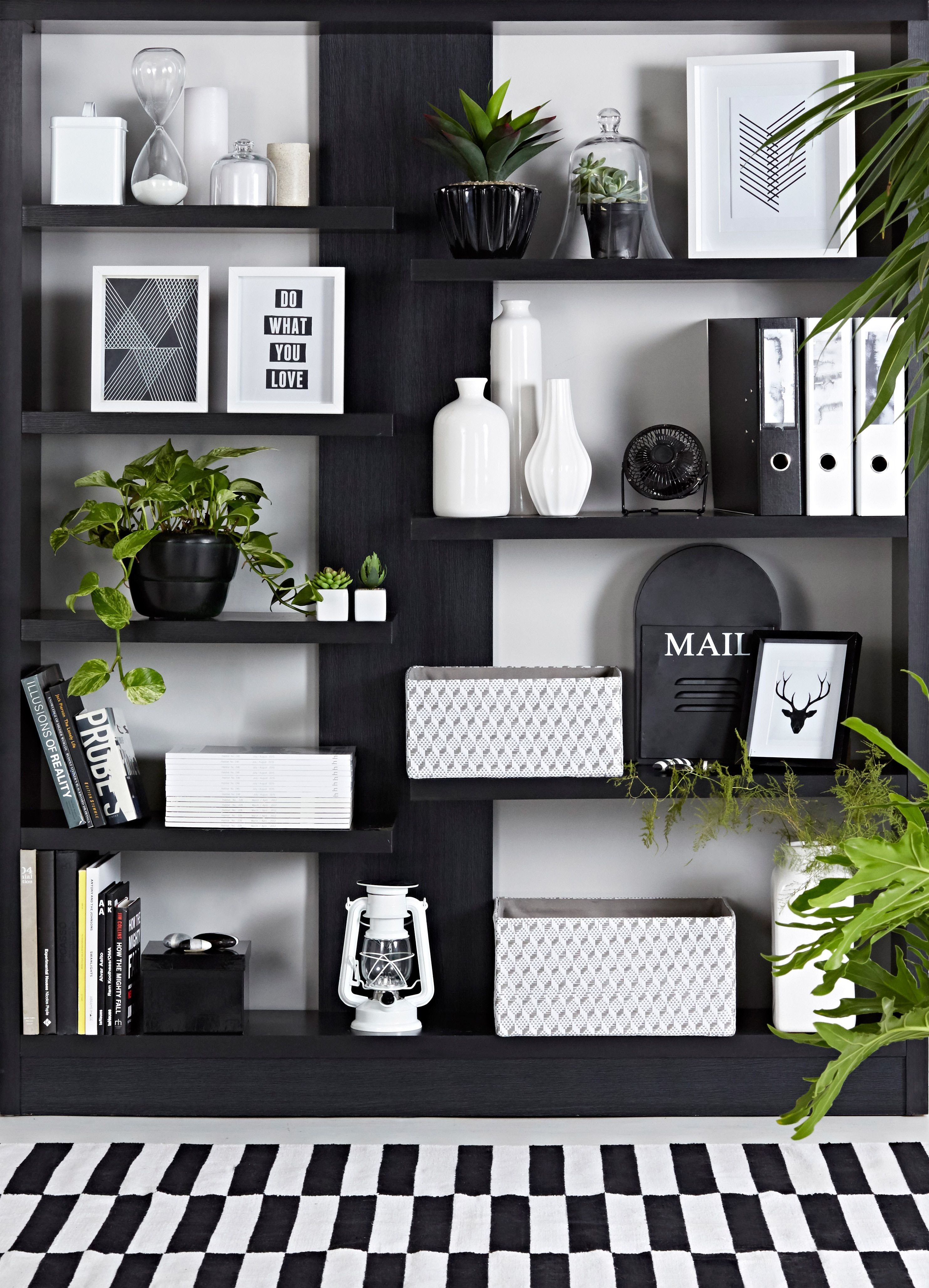 Pin By Mrphome Mr Price Home On Mrphome Spring 2015 Bookcase Decor Shelf Decor Living Room Bookshelf Styling