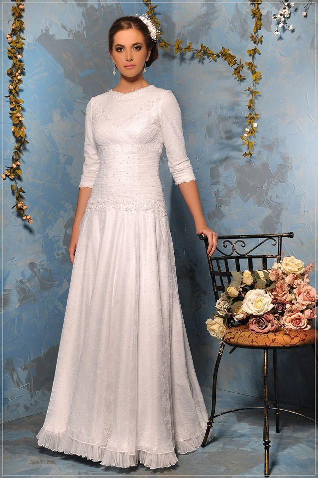 Anna Keisar Bridal #tznius | Modest (tznius) Wedding Gowns ...