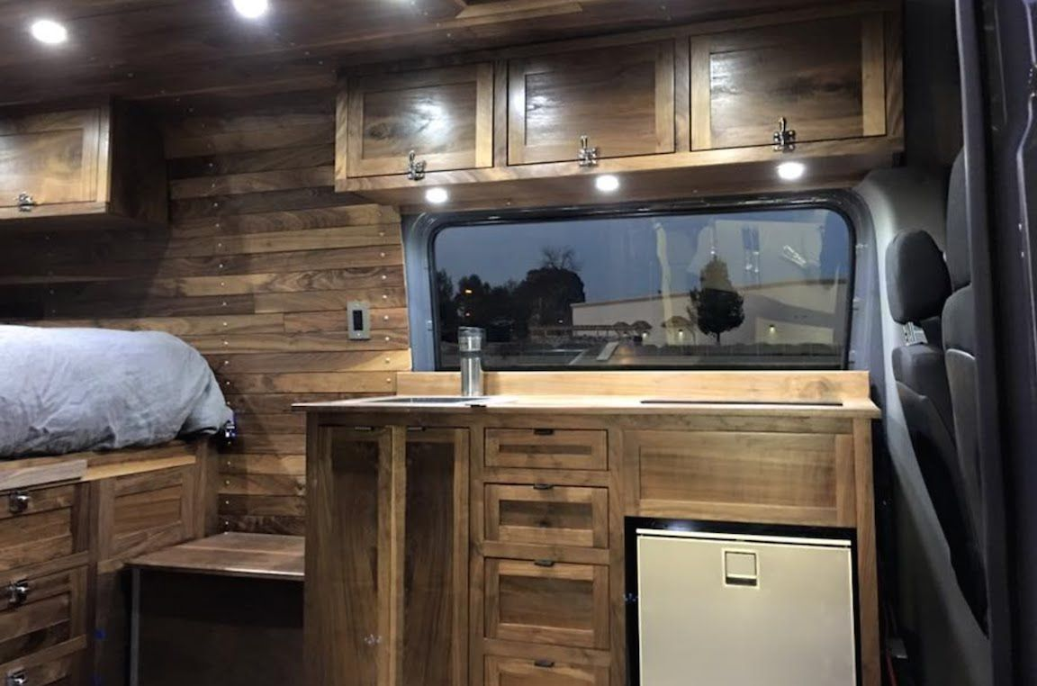 Mercedes Sprinter Van Build Update 4 Youtube Living