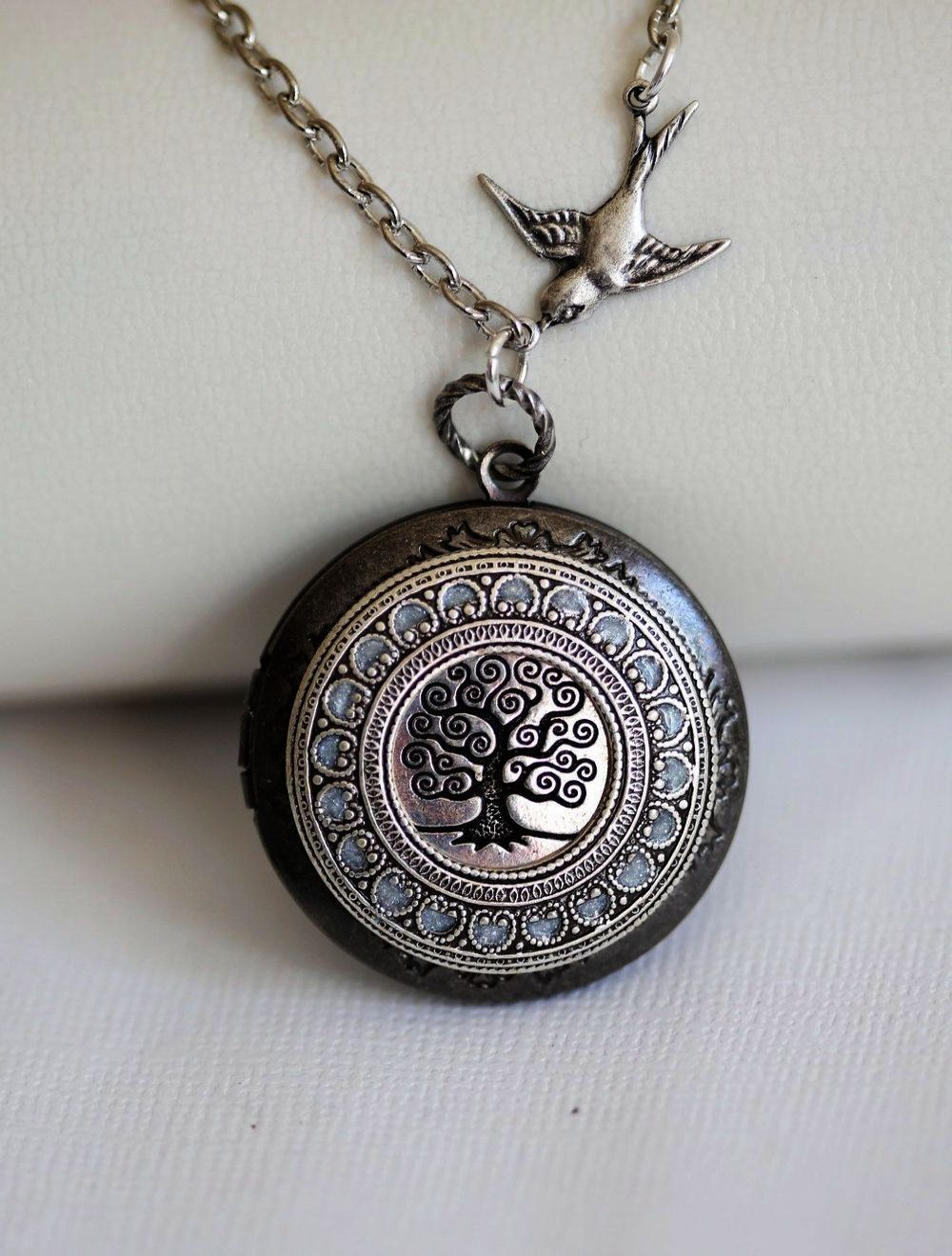 Vintage oval locket necklace locket necklace locket necklace