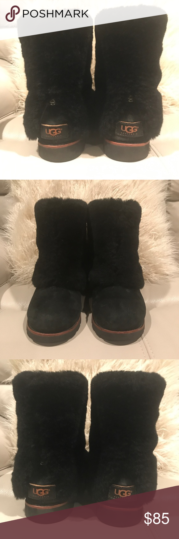 751d9224b0f Ugg Maylin boots. Black size 7 (see description) Ugg Australia ...