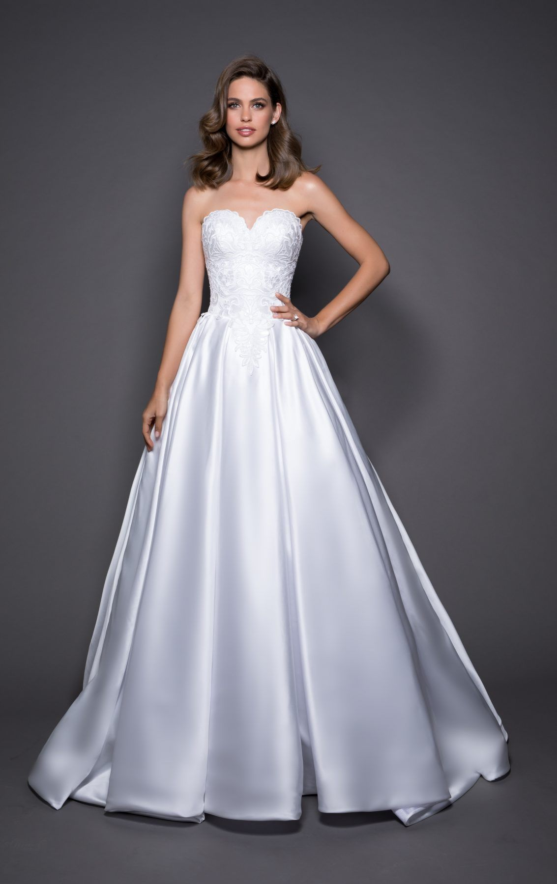 love-by-pnina-tornai-classic-ball-gown-wedding-dress-33641663 ...