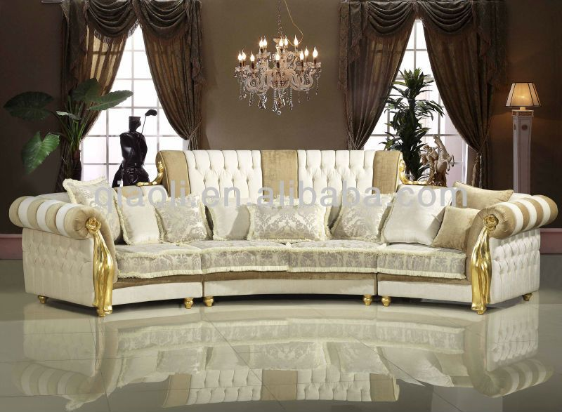 High Quality Luxury Classic Furniture Barcelona Corner Sofa Furniture