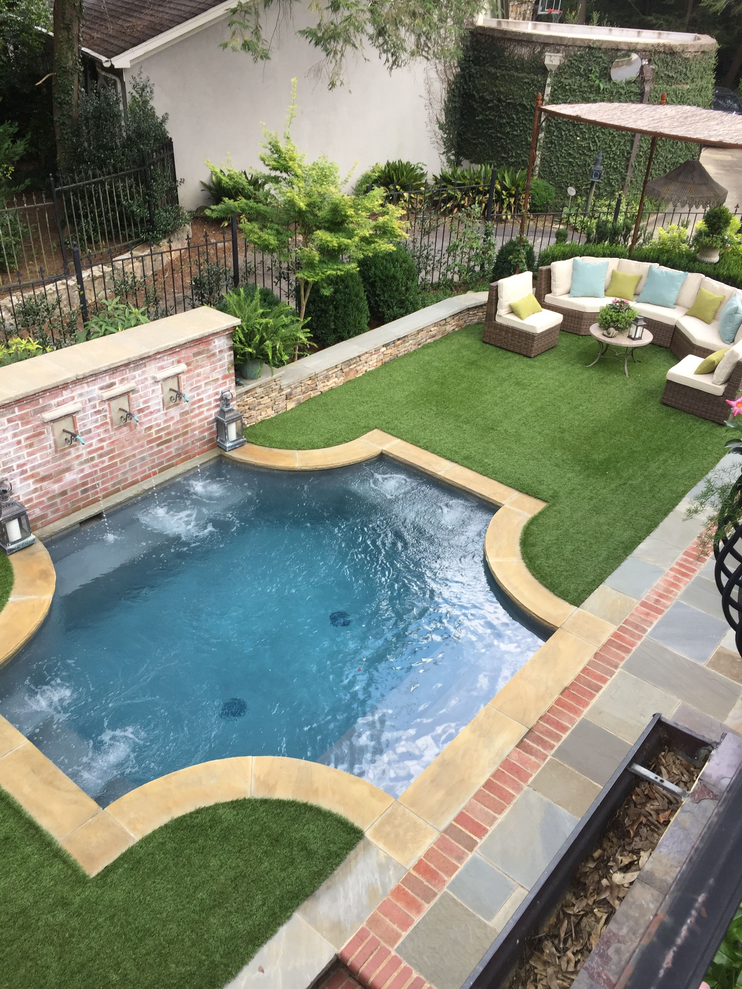 Pin By Farzad Dehghani On Gardening Small Backyard Pools