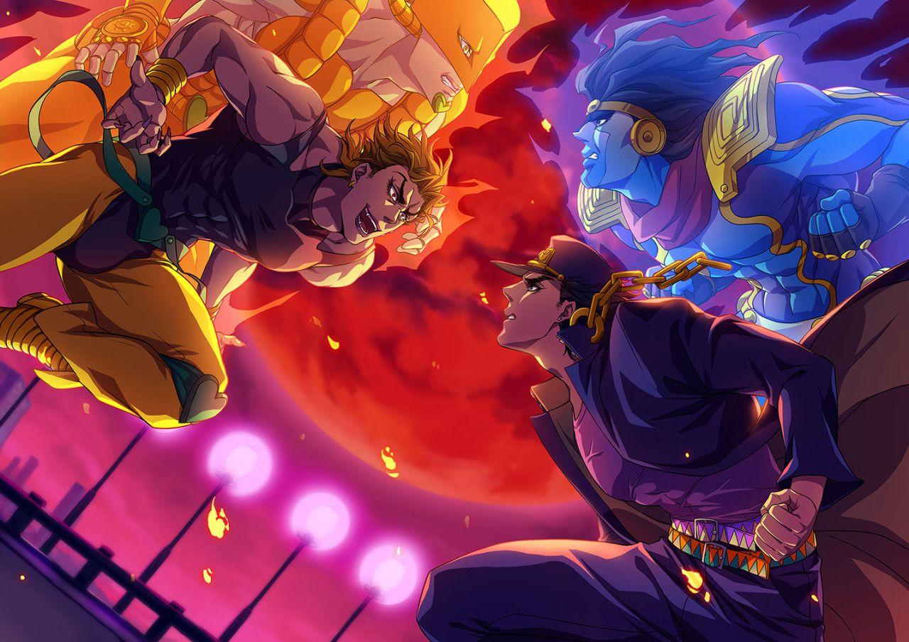 Jjba The World Jojos Bizarre Adventure Jotaro Jojo Bizzare Adventure Jojo Anime