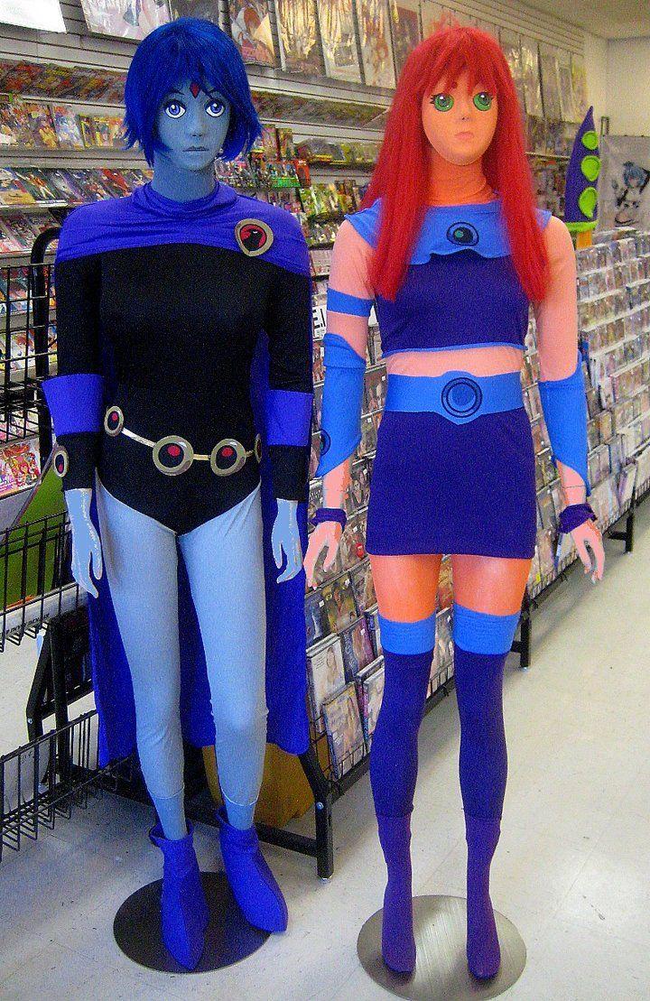 hot raven from teen titans halloween costumes | humoungus Starfire ...