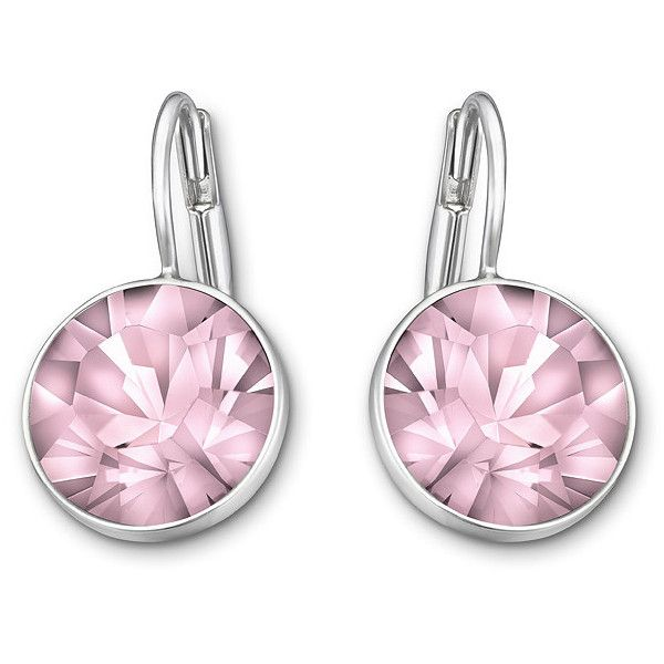 Swarovski Bella Mini Pierced Earrings ($41) ❤ liked on Polyvore featuring jewelry, earrings, accessories, sparkle jewelry, swarovski jewellery, rose earrings, sparkly earrings and earrings jewelry