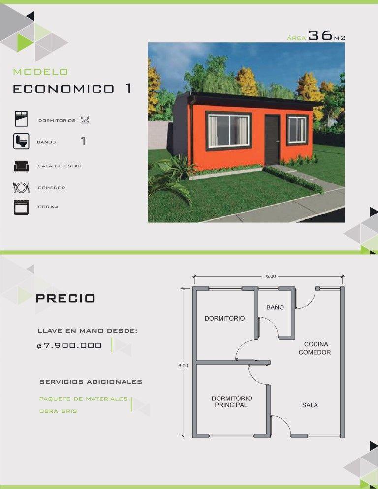 Linea econ mica casas prefabricadas costa rica empresa for Modelos de casas bonitas y economicas