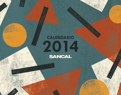"""Check out this @Behance project: """"Sancal 2014 Calendar"""" https://www.behance.net/gallery/14246729/Sancal-2014-Calendar"""