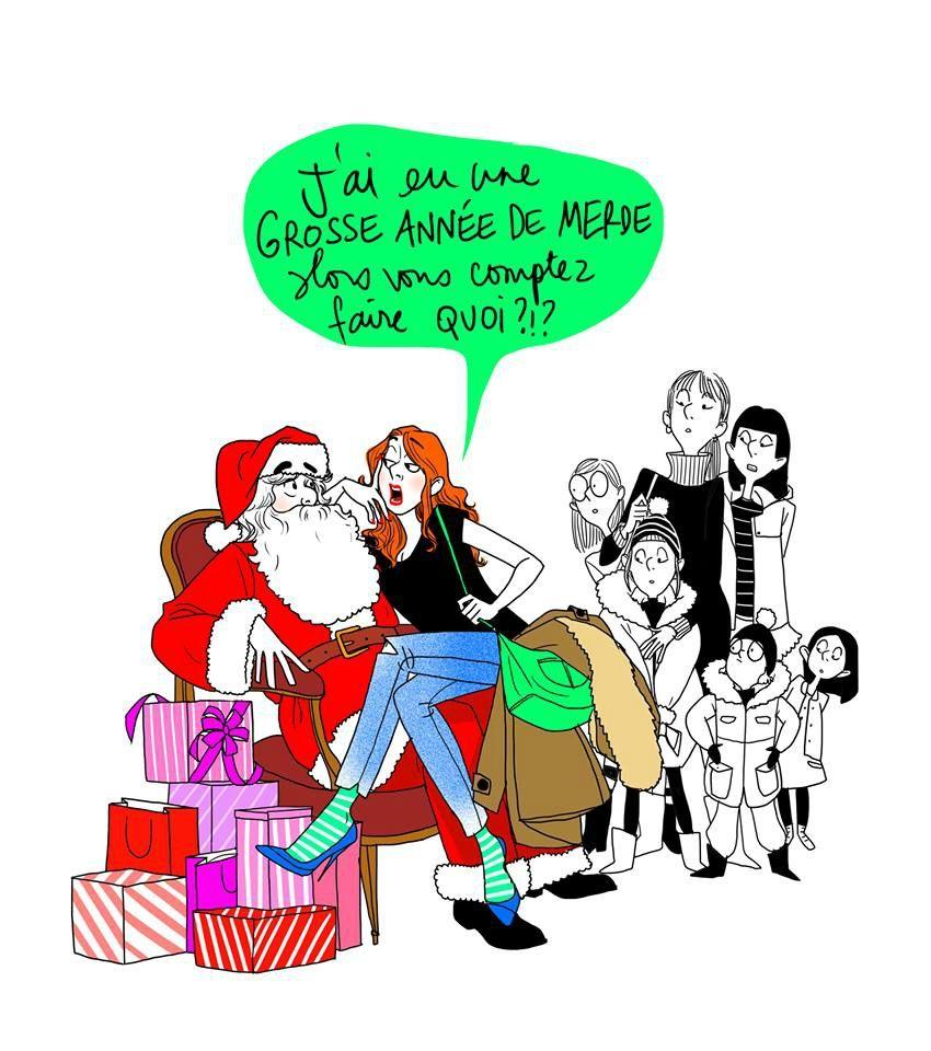 Décembre Amélie Laffaiteur Joyeux Noel Humour Noël