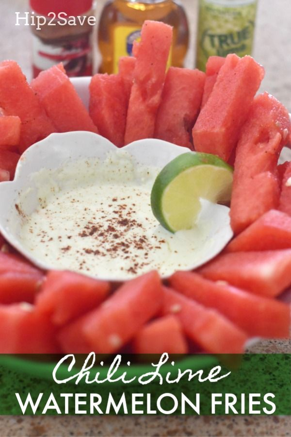 Chili Lime Watermelon Fries images