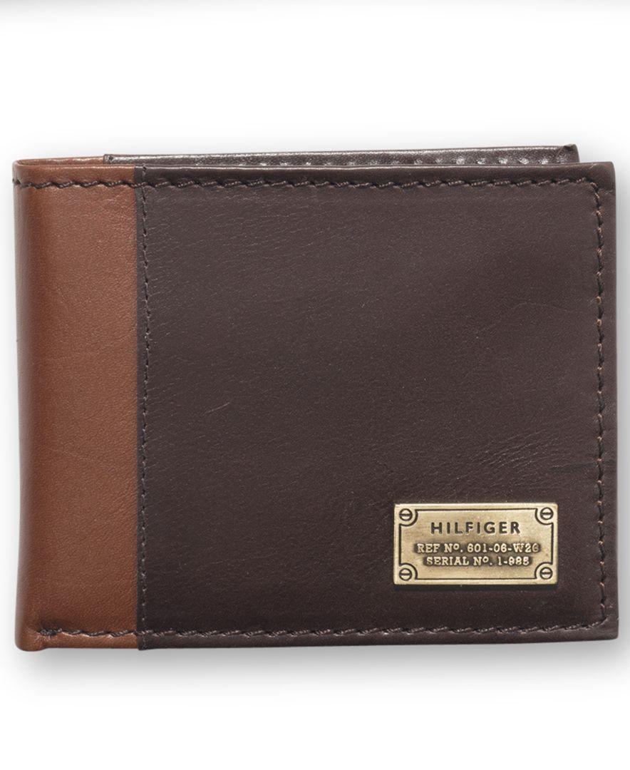 fb95b3867c Tommy Hilfiger Melton Passcase Billfold Wallet | Tommy Hilfiger in ...
