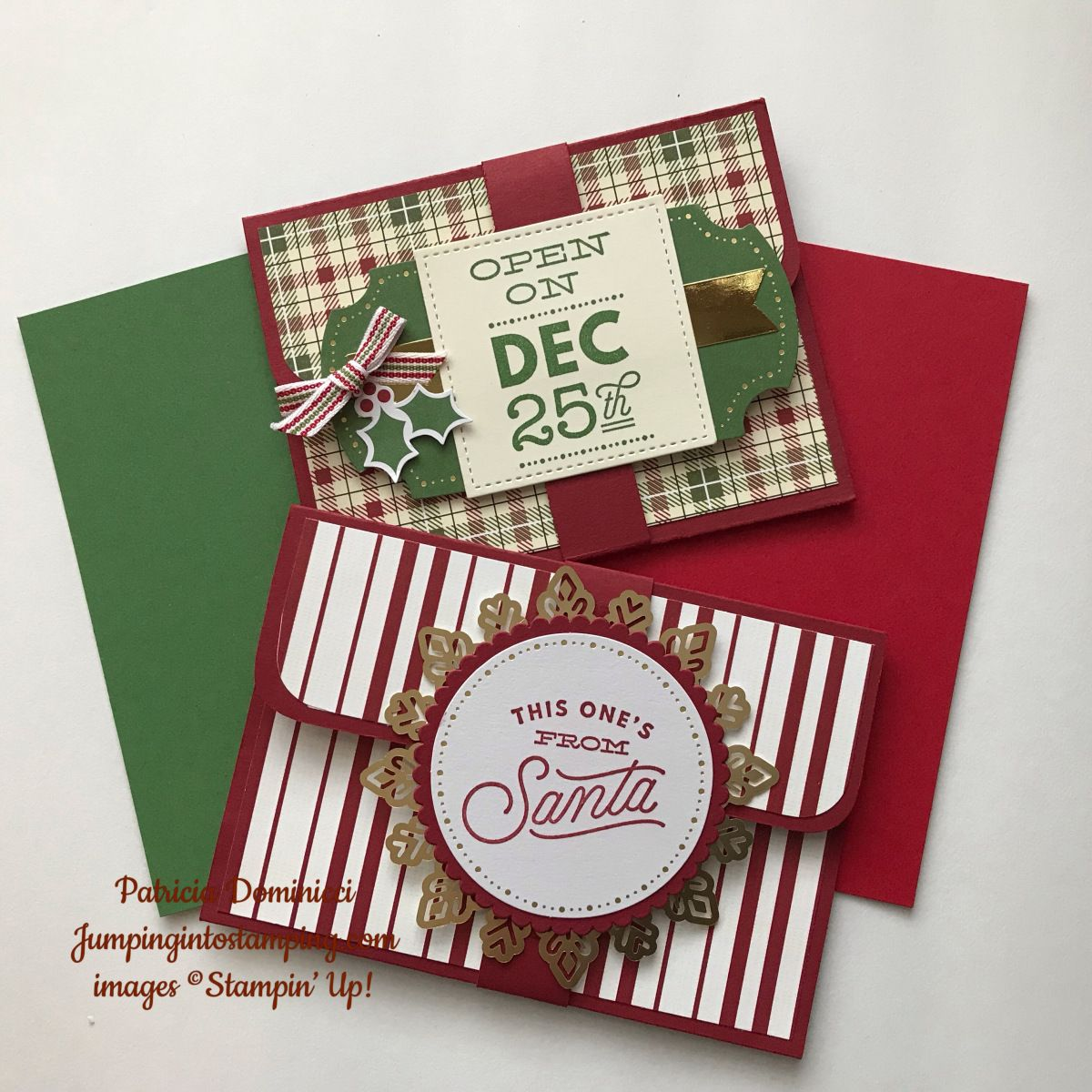 Diy Christmas Gift Card Holder: Christmas Gift Week - More Gift Card Holders