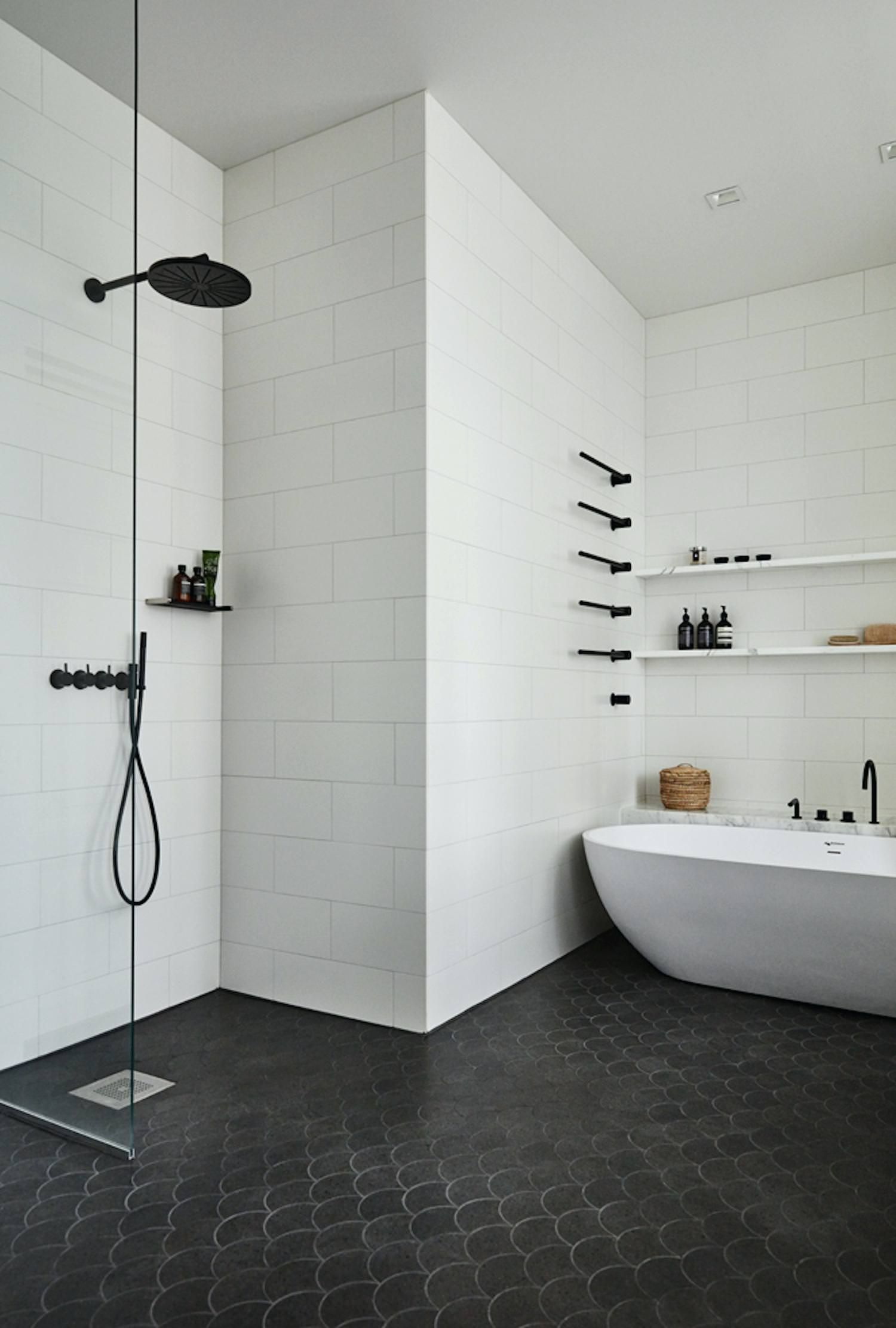2018 Design Trends for the Bathroom | Bathroom black, Design trends ...