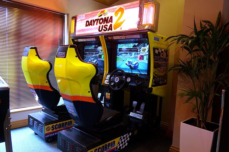 Daytona 2 Twin Daytona Usa 2 Is The Sequel To The Massively
