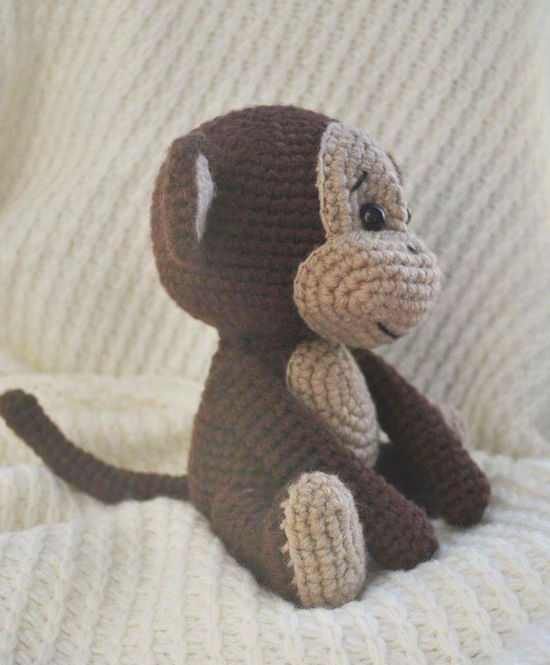 Crochet naughty mono patrón de amigurumi | Patrones | Pinterest ...