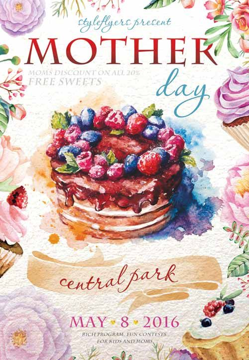 Mother Day Free Flyer Template  HttpFreepsdflyerComMother
