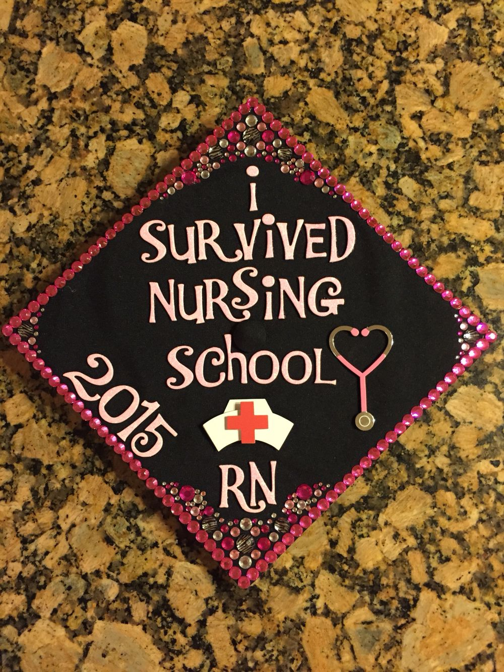 Nursing School Graduation Cap Decoration Graduation Caps