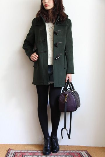 Gloverall duffle coat in navy 100% wool and British - this will be ...