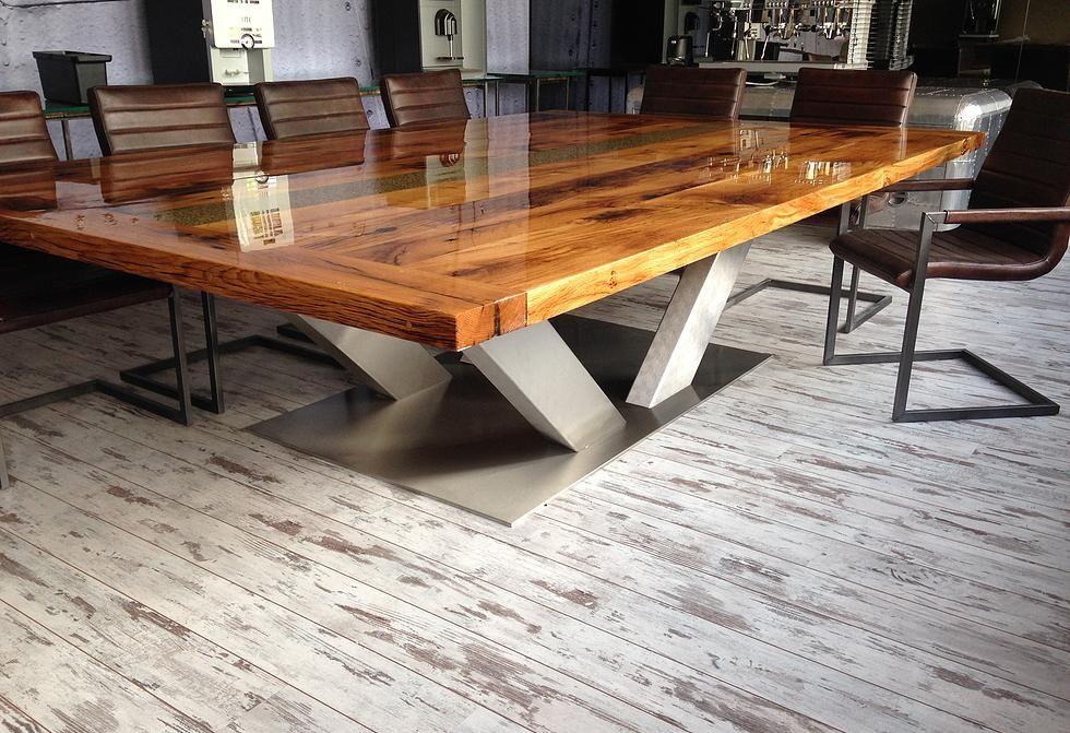 Rvs Onderstel Tafel : Tafels met rvs onderstel у 2019 р. Стіл pinterest wood table