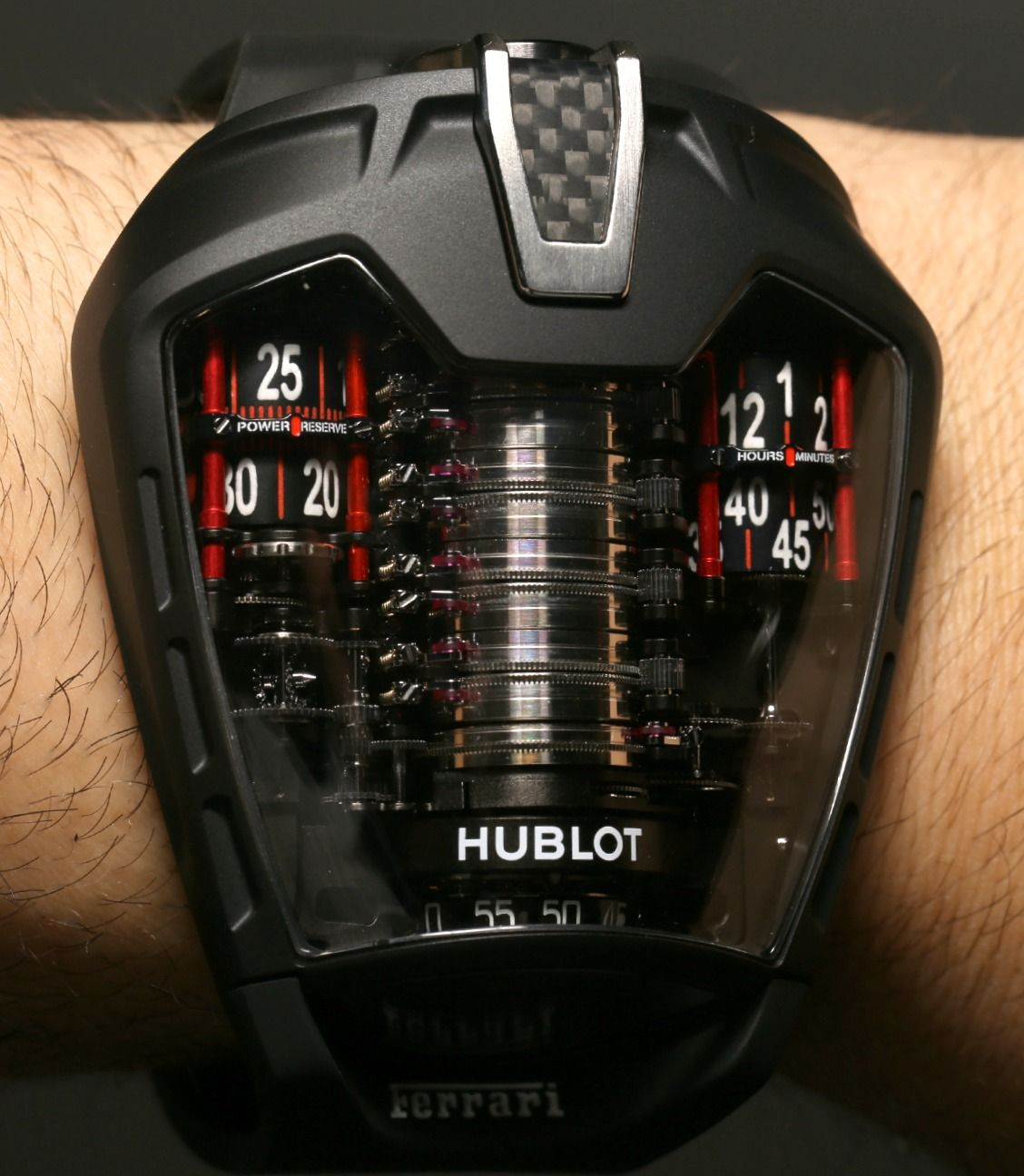 Hublot Mp 05 Laferrari Watch With Power For 50 Days Ablogtowatch Hublot Fancy Watches Luxury Watches
