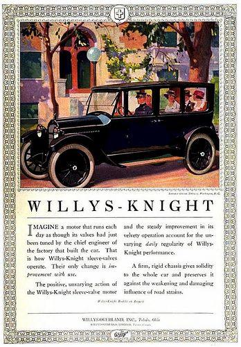1920 Willys Knight Willys Overland Inc Toledo Ohio Willys Toledo Ohio Old Classic Cars