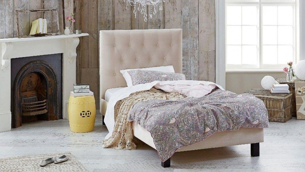 Adelle King Single Bed   Bedroom   Beds U0026 Manchester | Harvey Norman  Australia