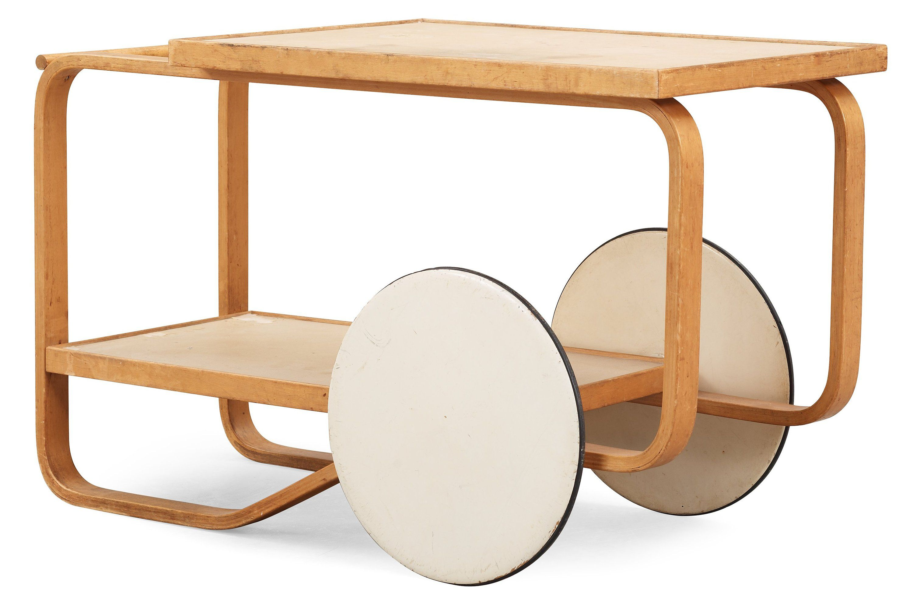 Alvar aalto drink trolley trolleys furniture design for Alvar aalto muebles