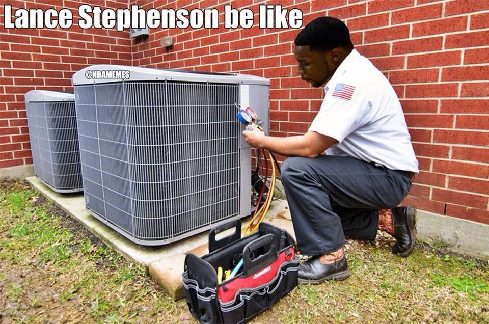 Lance Stephenson (With images) Air conditioner