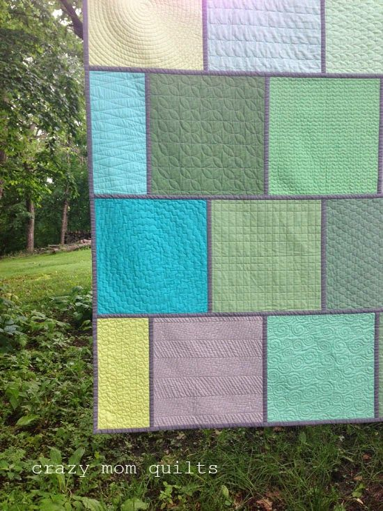 crazy mom quilts: machine quilting sampler, volume 2 Lovely way to ... : machine quilting blogs - Adamdwight.com